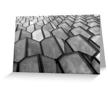 Grey windows Greeting Card