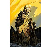 The Golden Ruin (a stranded colossus) Photographic Print