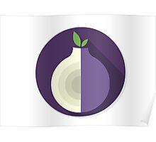 Tor Flat Logo Poster
