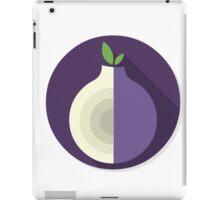 Tor Flat Logo iPad Case/Skin