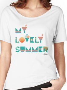 My lovely summer  Women's Relaxed Fit T-Shirt