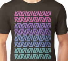 Colorful Triangle patten Unisex T-Shirt