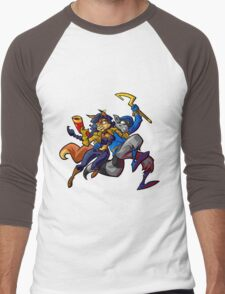 Sly Cooper and Camelita Fox Men's Baseball ¾ T-Shirt