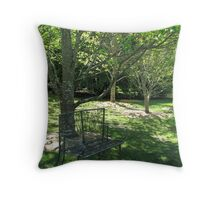 Peaceful Spot Throw Pillow