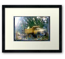 Tonka tough  Framed Print