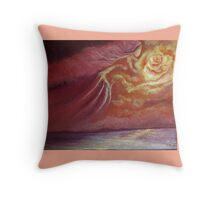 The gift of light Throw Pillow