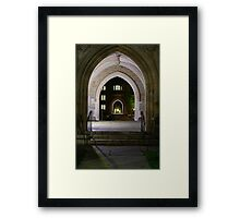 Arches of arches Framed Print