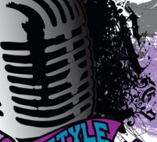 FREESTYLE MIC Sticker