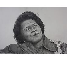 James Brown Photographic Print