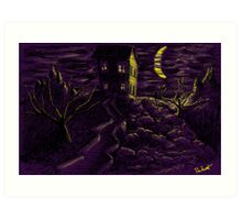 Spooky Night Art Print