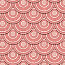 Folk pattern by Richard Laschon