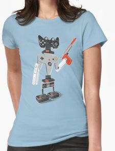 ControlBot4000 Womens Fitted T-Shirt