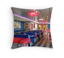Cadillac Diner.... Throw Pillow