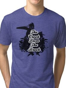 THE CROOK FROM THE BROOK Tri-blend T-Shirt