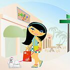 TropoGirl - Shopping day by Kartoon