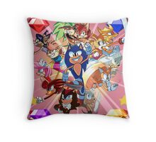 Archie's Sonic Throw Pillow