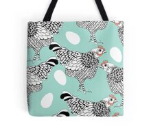 The chicken and the egg Tote Bag