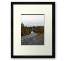Turner Road Framed Print