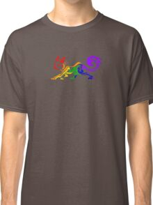 Rainbow Tribal Cat Classic T-Shirt