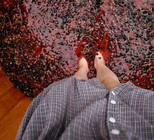 Perspective Stomping Grapes by smalshbarrick