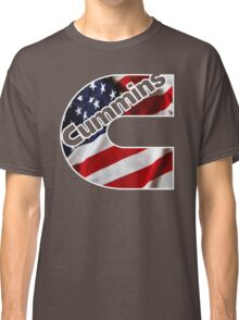 Cummins US Flag  Classic T-Shirt