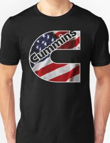 Cummins US Flag  Unisex T-Shirt