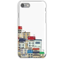 Old slum city cartoon iPhone Case/Skin