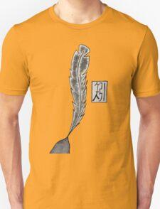 矧 Feather (Arrow) T-Shirt