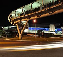 Gold Coast Nightscape - GC Convention Center by Cory Hawkless