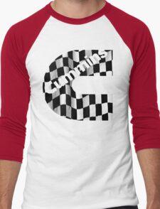 Cummins Racing Flag  Men's Baseball ¾ T-Shirt