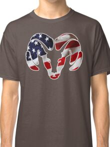 Dodge Ram US Flag Classic T-Shirt