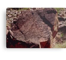 Petroglyph Ndala Gorge 19940511 0004 Metal Print