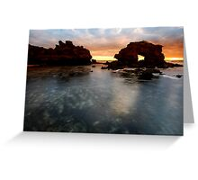 Blairgowrie Sunset Greeting Card