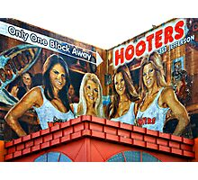 HOOTERS Photographic Print
