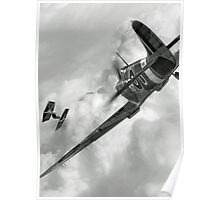 Spitfire VS Tie Fighter Poster