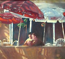 Outdoor Cafe by Mrswillow