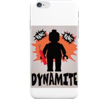 Dynamite Minifigure iPhone Case/Skin