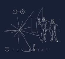 Pioneer 11 Plaque Kids Clothes