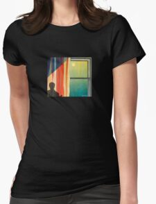 Casting Chair Womens Fitted T-Shirt
