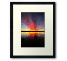 Surreal Rebecca Sunrise Framed Print