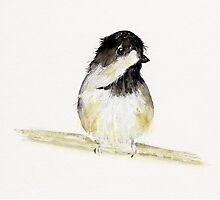 My Little Chickadee Photographic Print