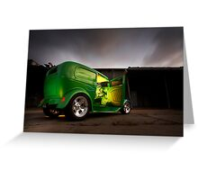 Ford Delivery Greeting Card
