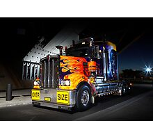 Custom Kenworth Photographic Print