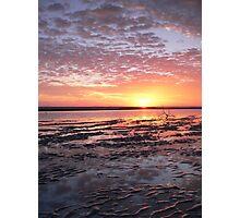 Nudgee Beach Winter Sunrise Photographic Print