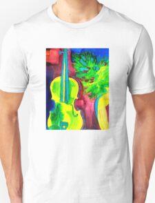Colorful Violin T-Shirt