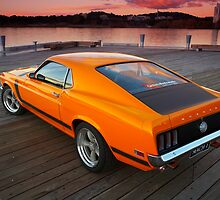 Mustang - MACH 1 by Tony Rabbitte