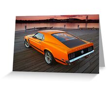 Mustang - MACH 1 Greeting Card