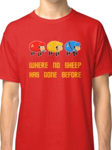 Where no Sheep Has Gone Before Classic T-Shirt