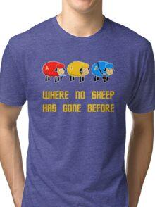 Where no Sheep Has Gone Before Tri-blend T-Shirt