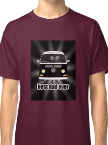 Best Dad Ever Black Sunburst Early Bay Classic T-Shirt